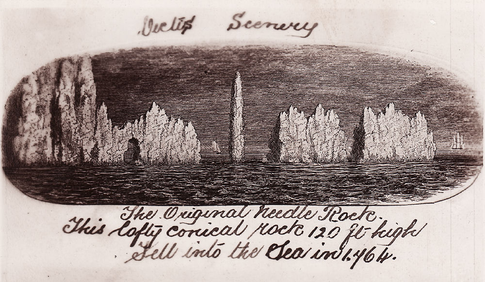 Early print of Needles