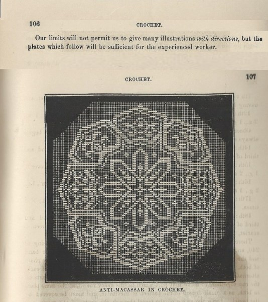 1859 Hartley's Anti-Macassar pattern