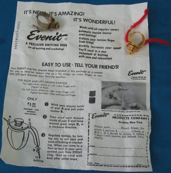 Evenit Precision Knitting Rings